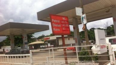 Fuel Price signage