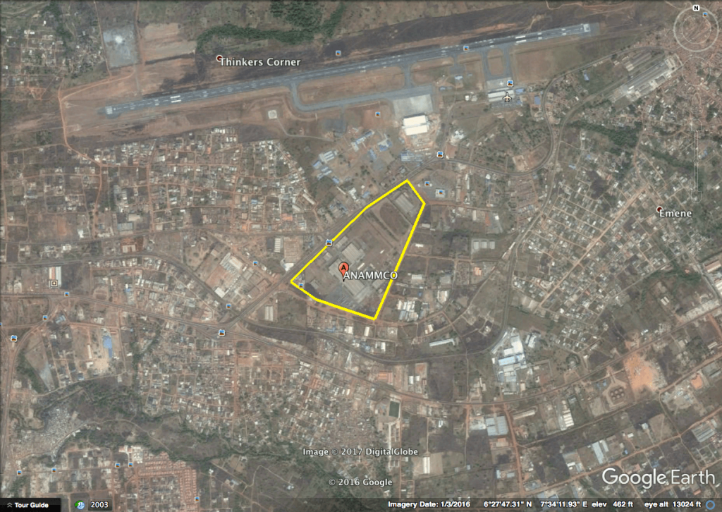 ANAMMCO plant in Enugu, Nigeria